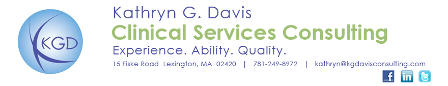 Kathryn G. Davis | Clinical Services Consultant